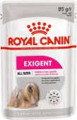 Корм для собак Royal canin Экзиджент Кэа канин эдалт (паштет) 0,085 кг