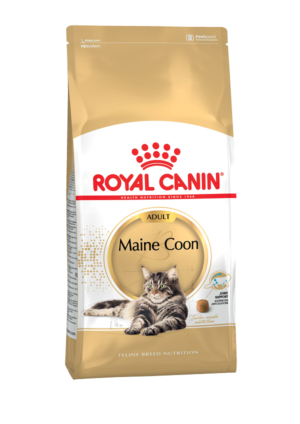 Корм для кошек Royal Canin для породы Мейн Кун, 4 кг