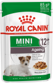 Корм для собак старше 12 лет Royal canin Мини Эйджинг 12+  в соусе 0,085 кг